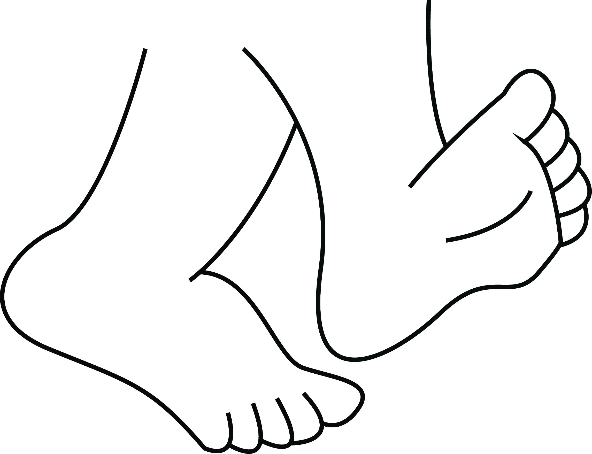 Fußgängerampel Clipart Foot Clipart Black And White 5 Clipart Station
