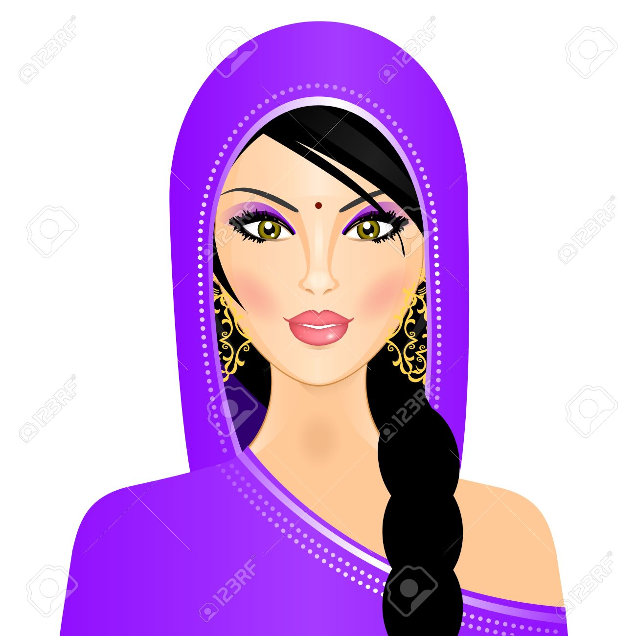 Cute Girl N Boy Wallpapers Indian Woman Clipart 9 187 Clipart Station