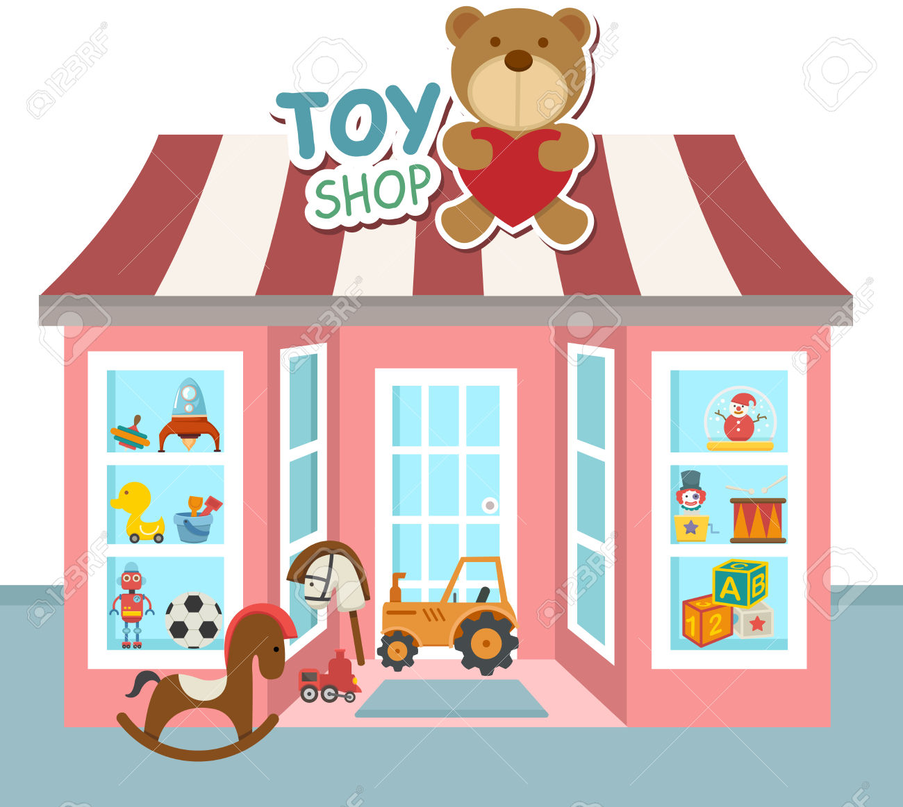 Sonnenstuhl Clipart Toy Shop Vector Clipart Station