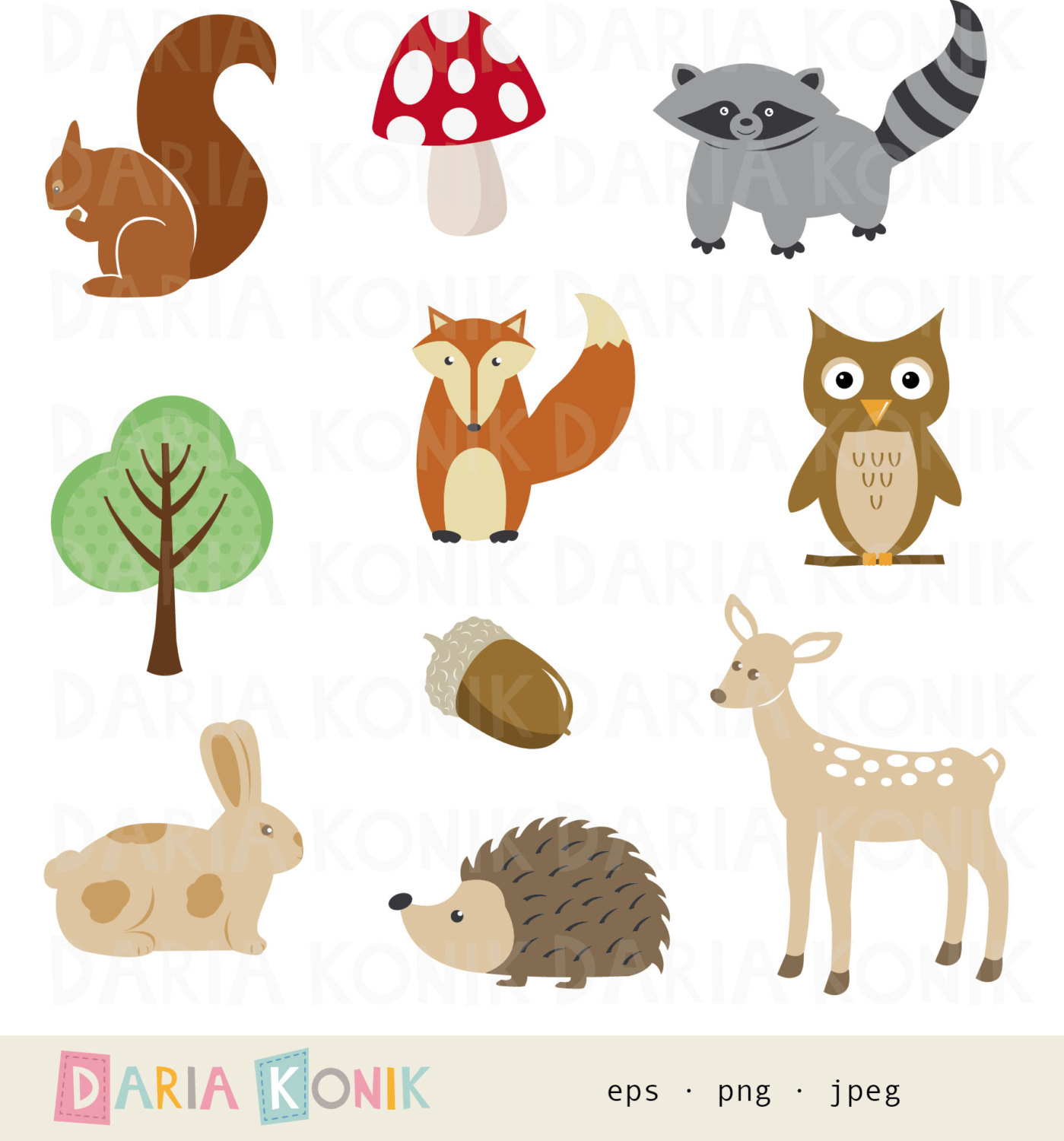 Clipart Tiere Kostenlos Waldtiere Clipart Clipart Station