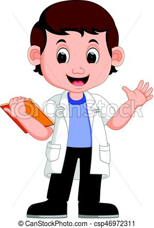 Young scientist clipart 1 » Clipart Station