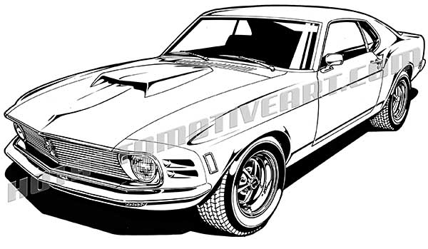 1970 ford mustang gt fastback