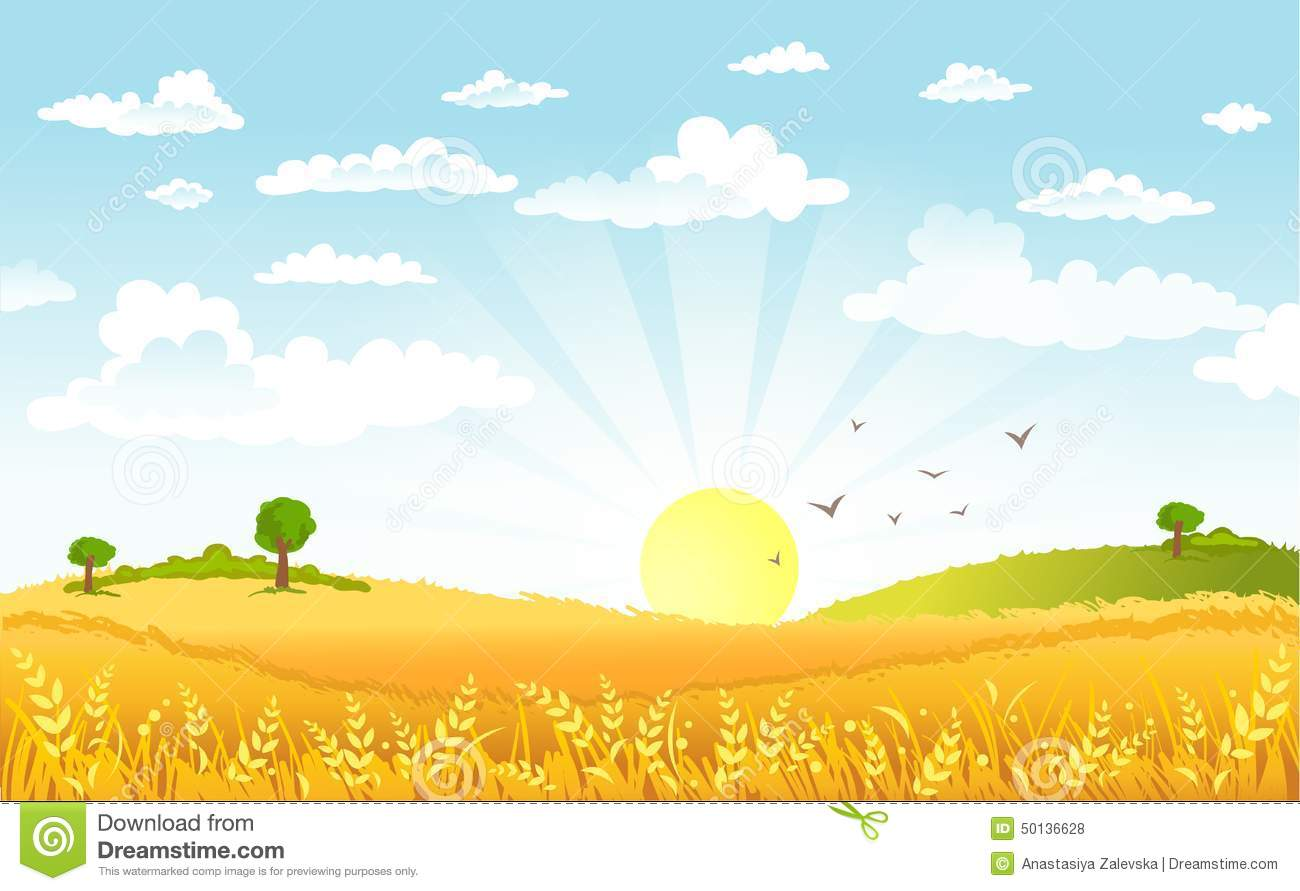 Colorful Fall Scene Wallpaper A Beautiful Morning Clipart Clipground