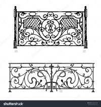 Architecture railing clipart