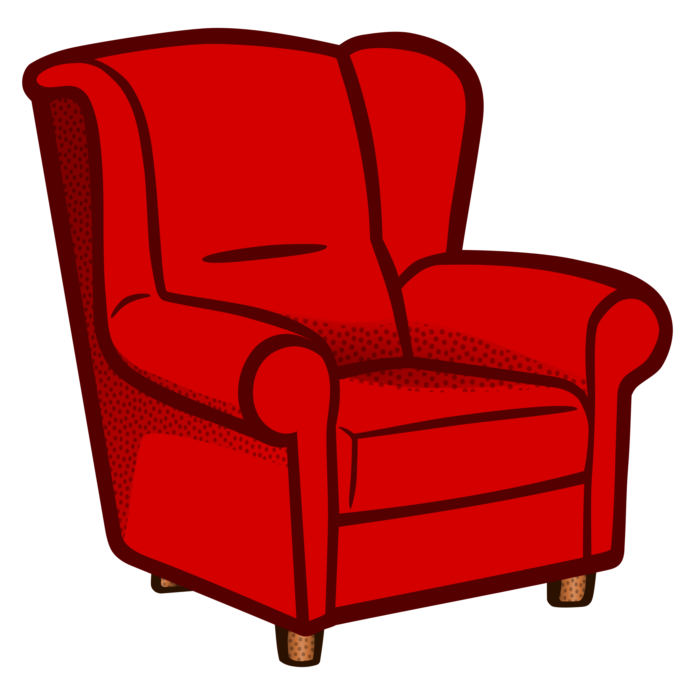 Sessel Cartoon Red Armchair Clipart Clipground