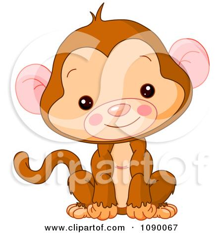 Monkey Clip Art Printable samplingforeignluxury