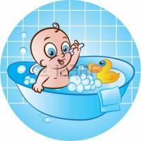 baby bathtub clipart - Clipground