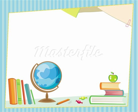 BACK TO SCHOOL CLIPART BORDERS AND FRAMES - 39px Image #8