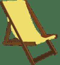 Beach chair clipart - Clipground