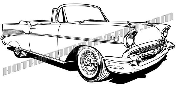 1953 chevrolet bel air 4 door