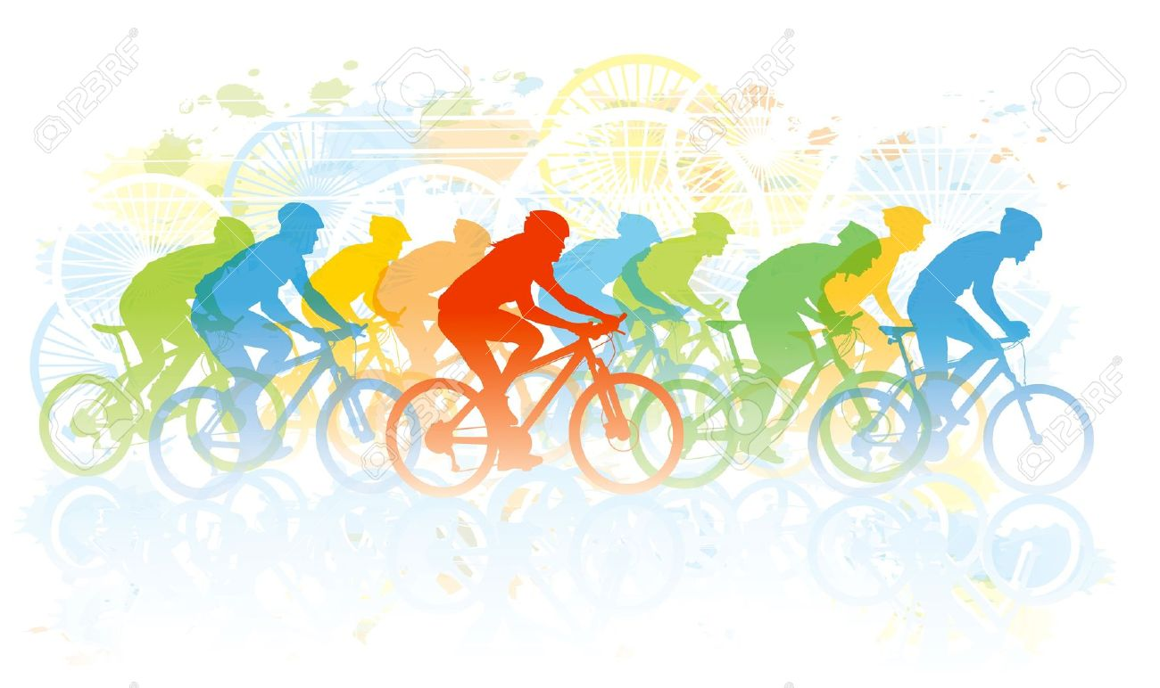 Racing Bicycle Clipart Bicycle Tour Clipart Clipground