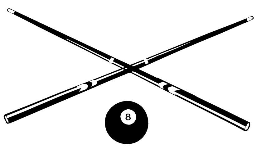 Billiards Cue Clipart Clipground