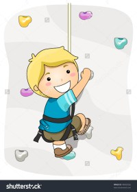 Rock Climbing Wall Clipart | www.imgkid.com - The Image ...