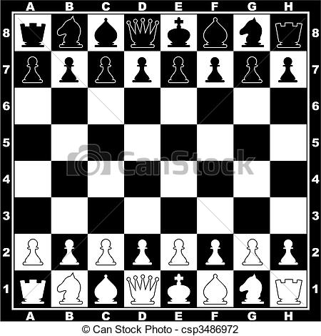 Chess board clipart - Clipground