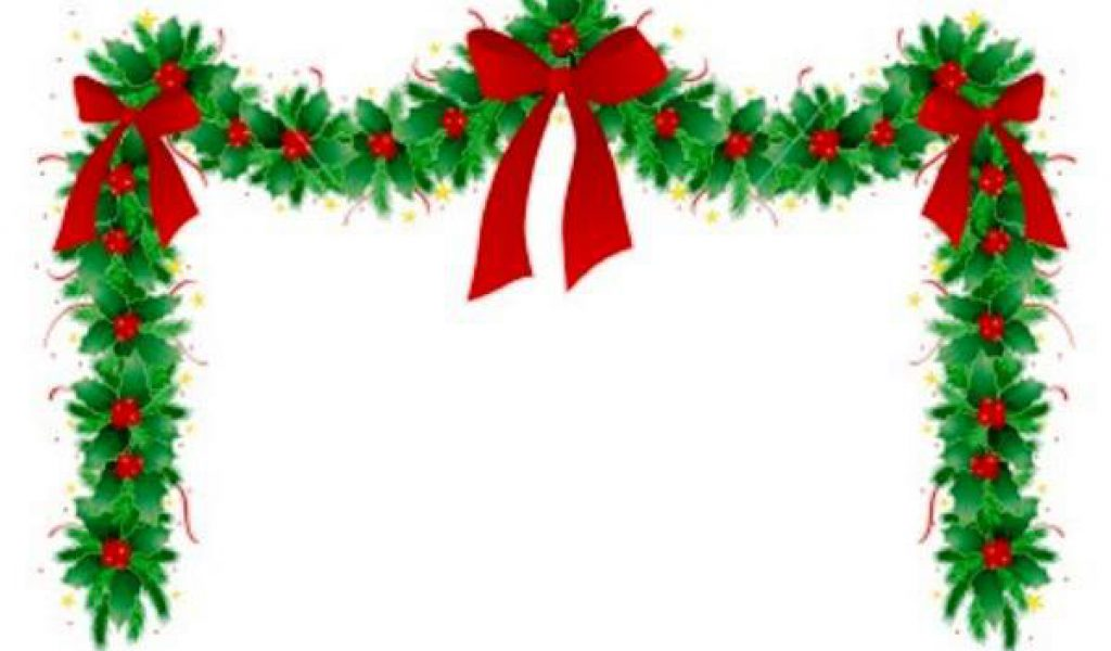 236x304 Free Christmas Letter Borders GeographicsAR Holly Ivy Border