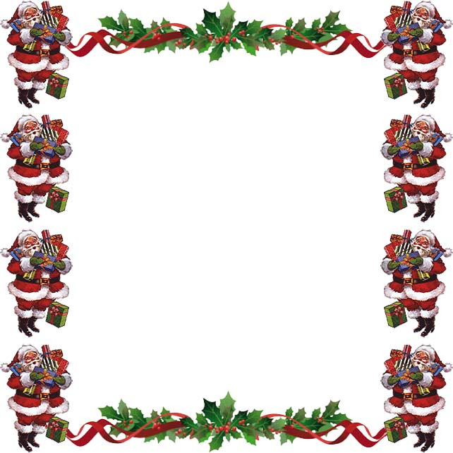 FREE CHRISTMAS CLIPART BORDERS FOR WORD - 61px Image #11 - word design frames