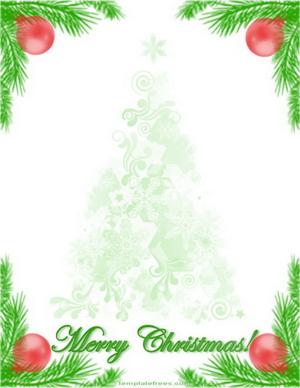 christmas letter clipart free - Clipground - christmas letter template word free