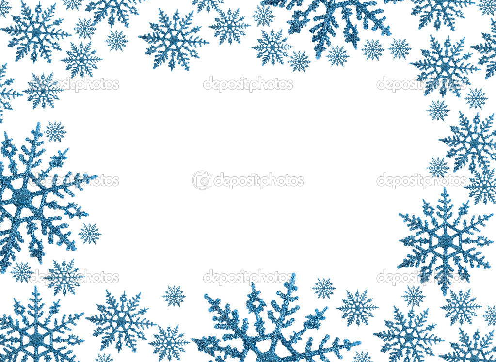 christmas snowflake clipart border - Clipground - snowflake borders for word