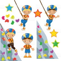 Climbing wall clipart - Clipground