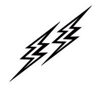 clipart of lightning bolt - Clipground