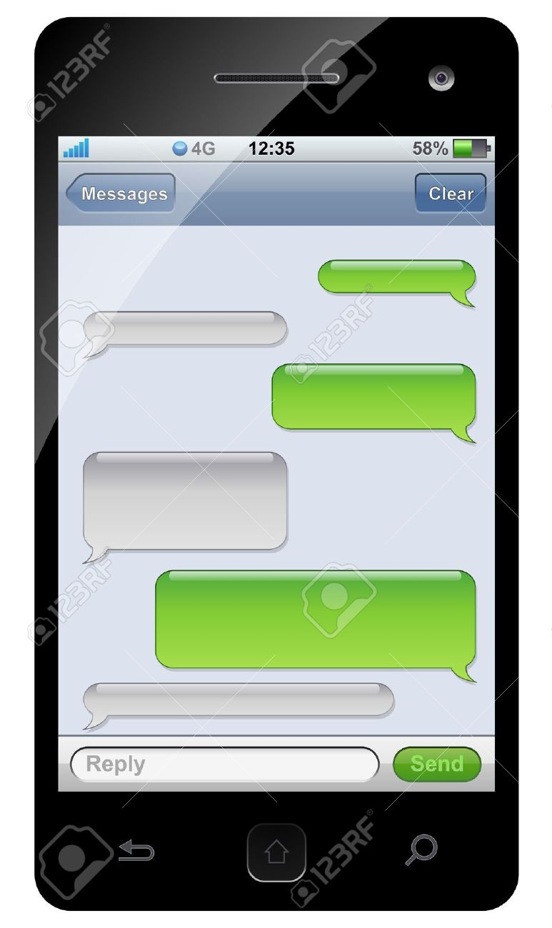 phone message template