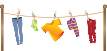 Hang Laundry Clipart Clipground