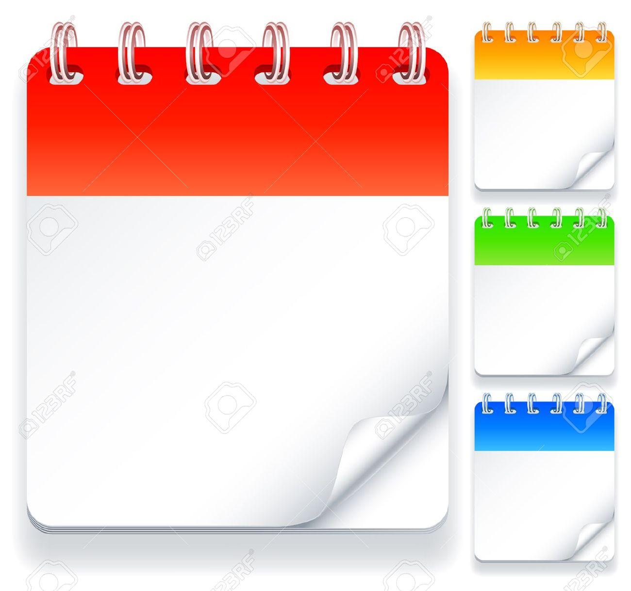 editable daily calendar