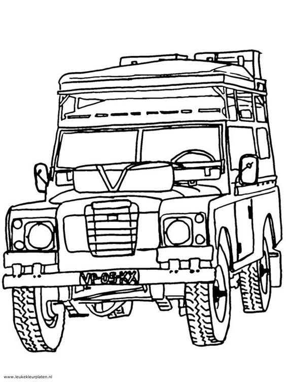 land rover front