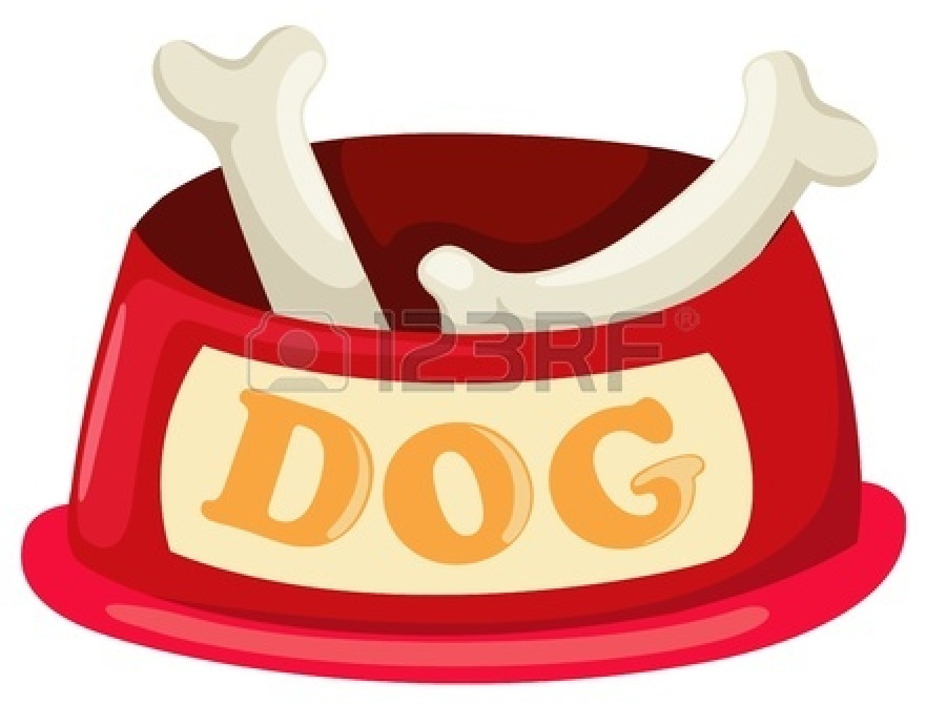 Holzstapel Clipart Dog Bowl Clipart - Clipground
