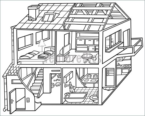 Dwelling House Clipart Clipground