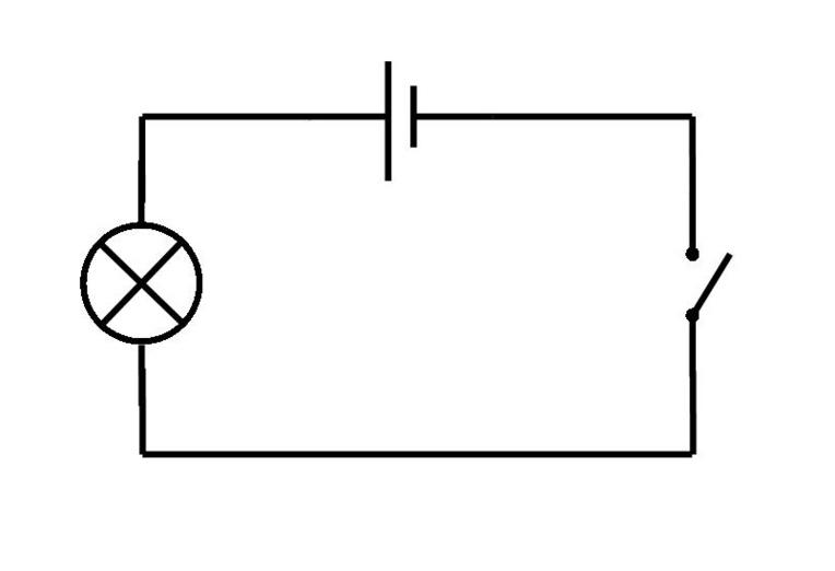 symbols in a circuit