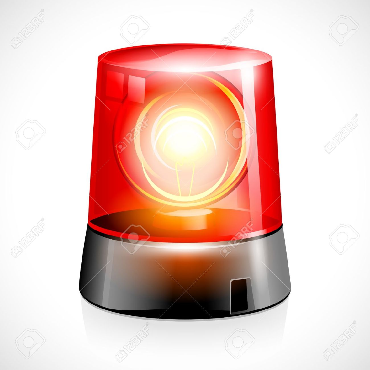 Police Lights Animation Warning Lamp Clipart Clipground