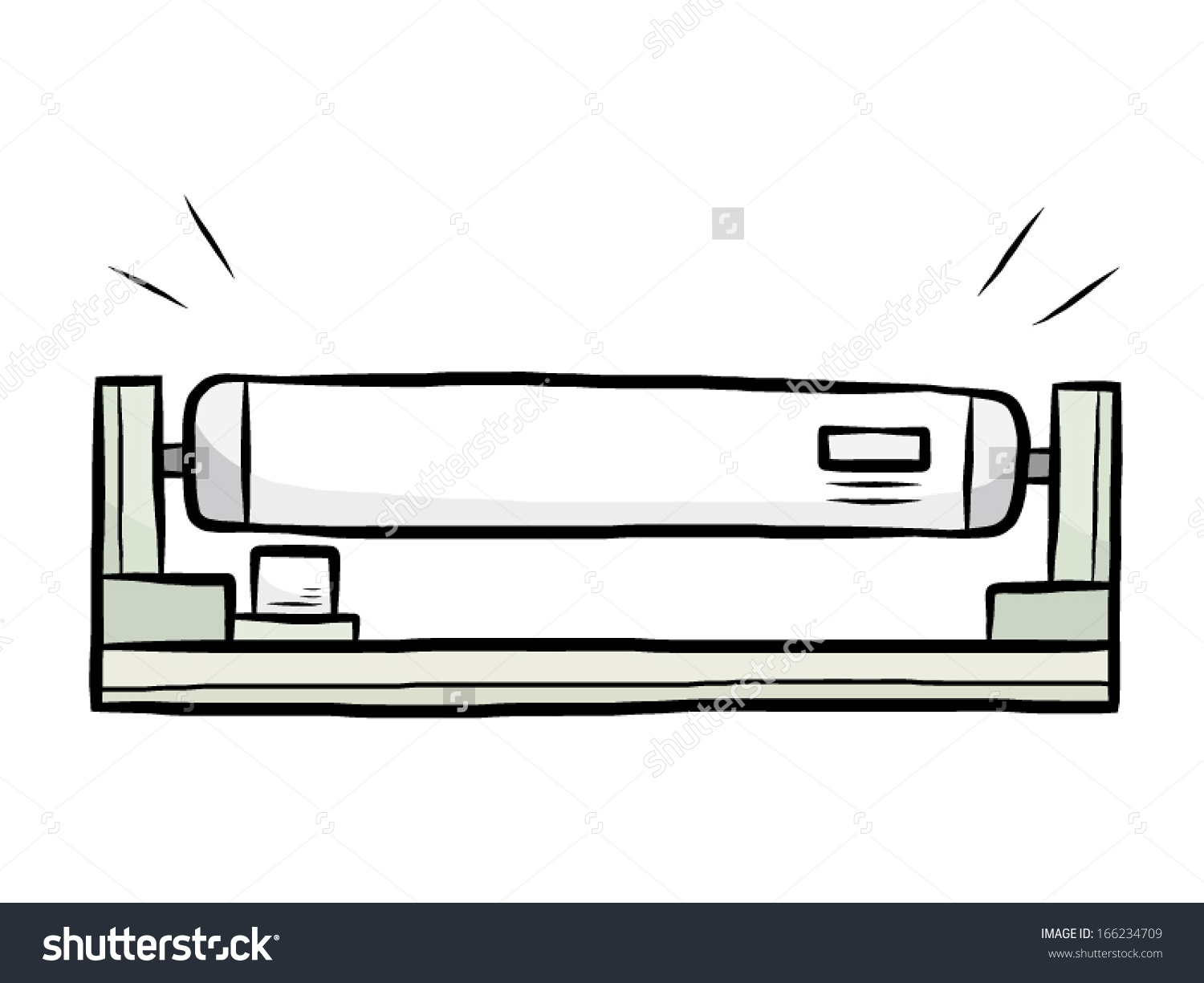 Fluorescent Tube Drawing Fluorescent Clipart Clipground
