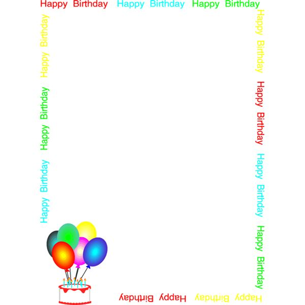 Holzstapel Clipart Free Clipart Birthday Borders - Clipground