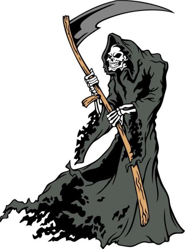 Rocker Girl Wallpaper Hd Grim Reaper Clipart Clipground
