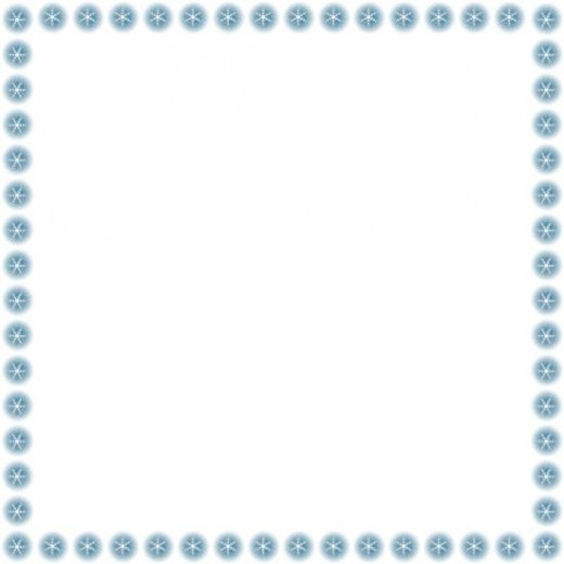 january border and frame clipart - Clipground - snowflake borders for word