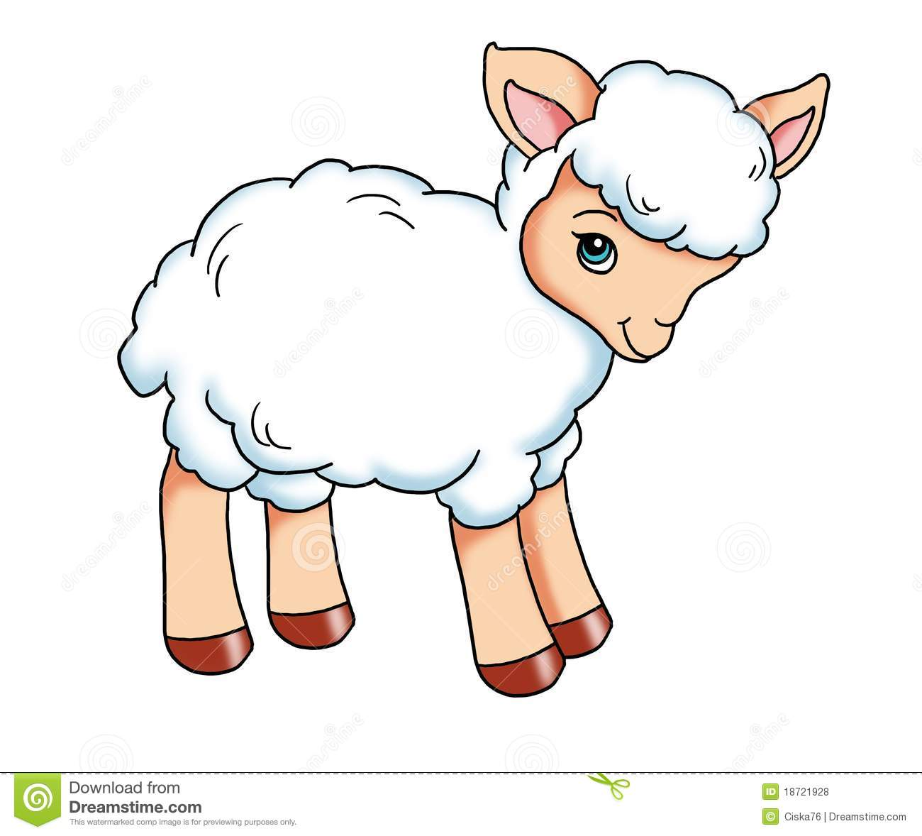 Baby Lamb Drawing Lamb Clipart Clipground