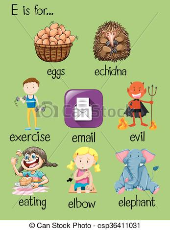 letter word clipart - Clipground