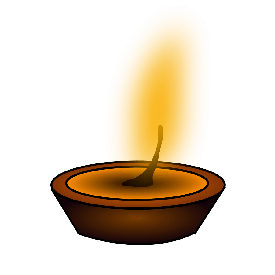 Oil Lamp Vs Lantern Light Source Clipart - Clipground