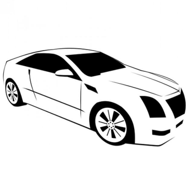 lexus sports car side view