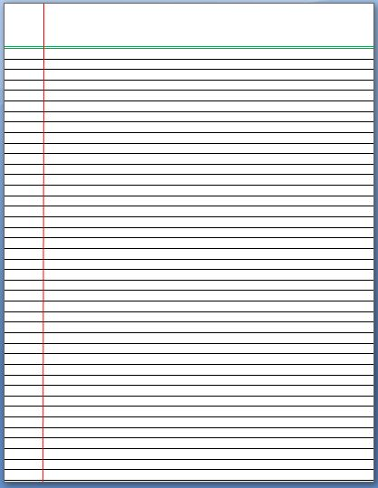 notebook lines clipart - Clipground