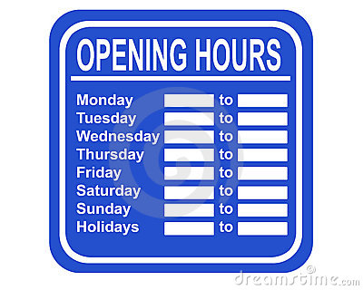 store hours sign template - Funfpandroid