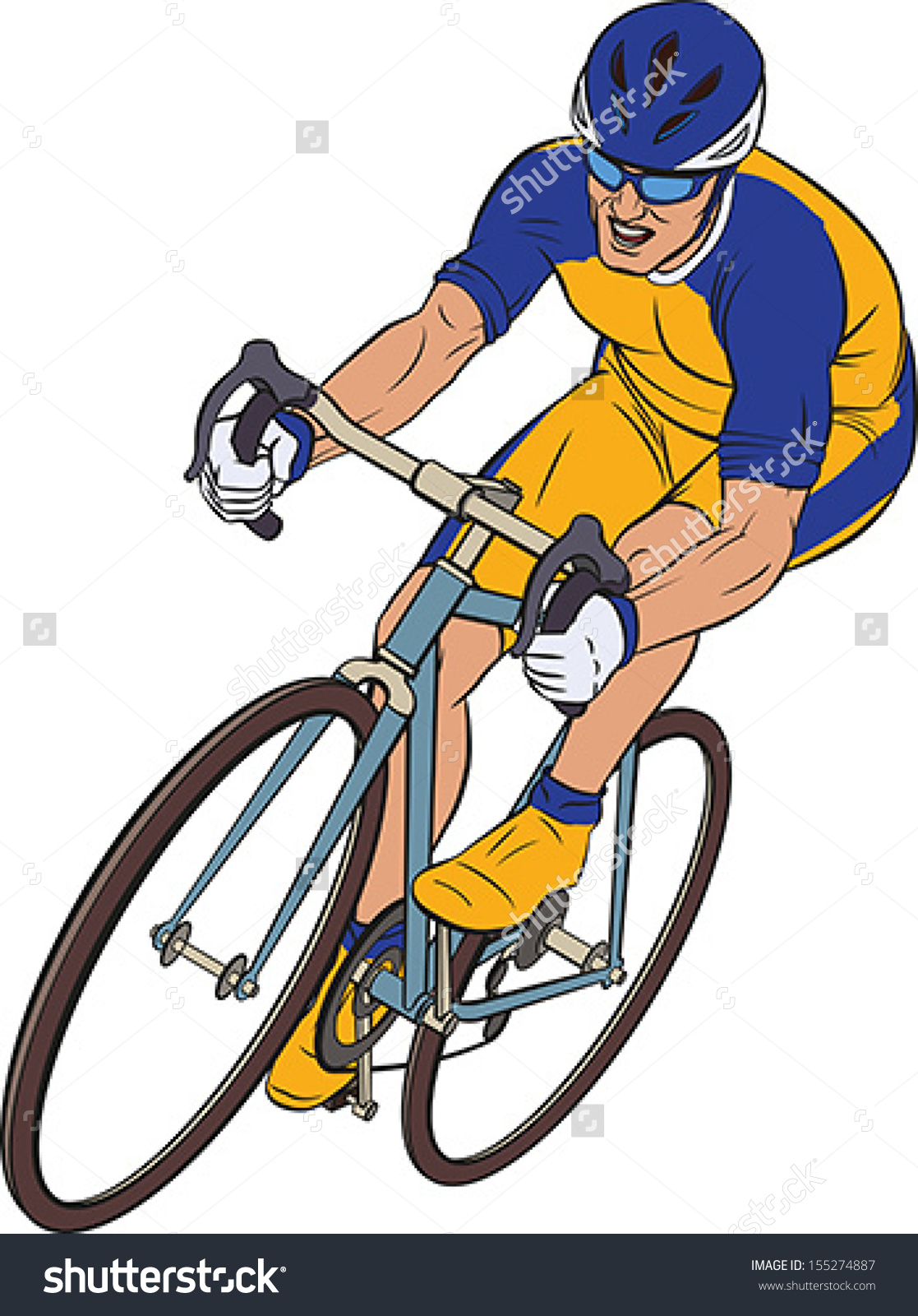 Racing Bicycle Clipart Racing Cyclists Clipart Clipground