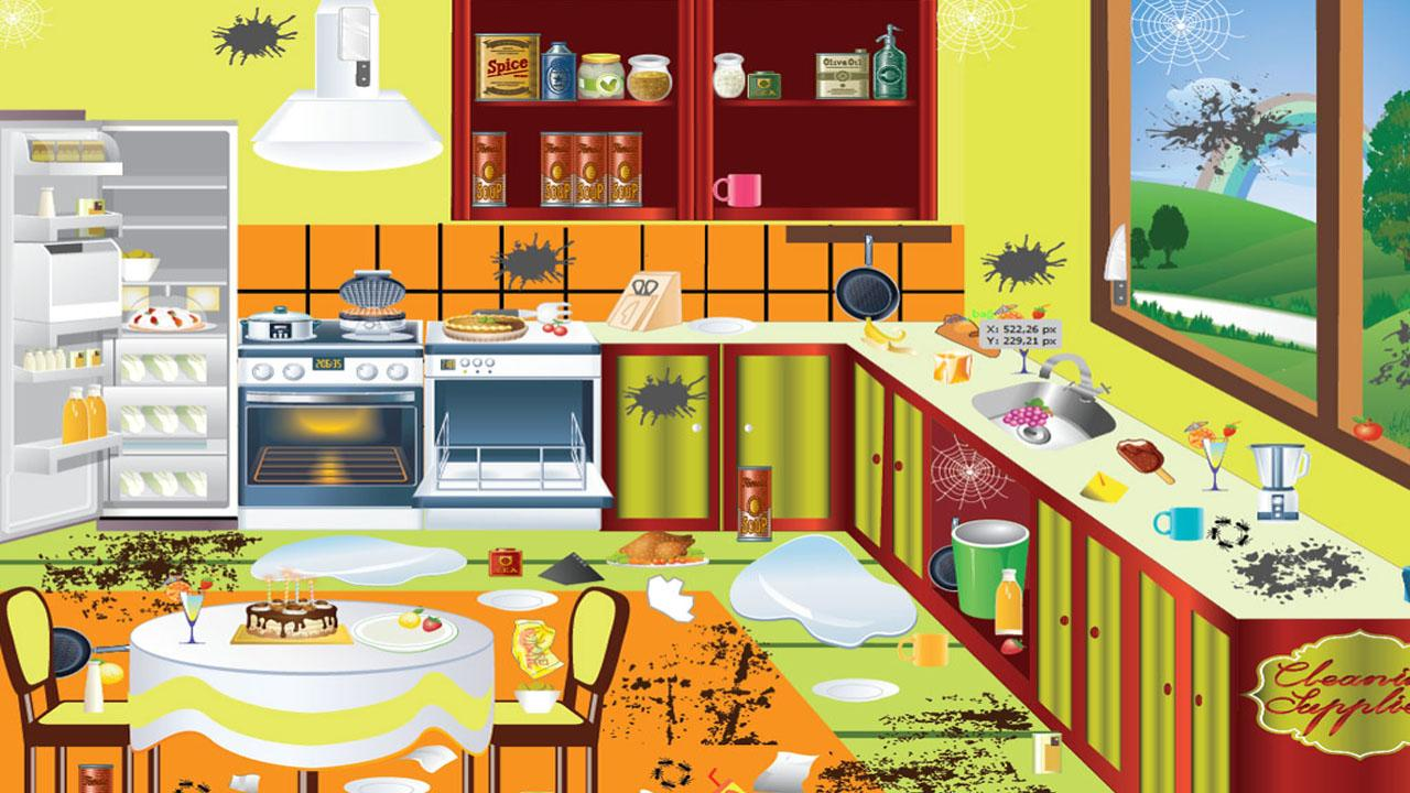 Sparkling clean kitchen clipart sparkling clean kitchen clipart cleaning game