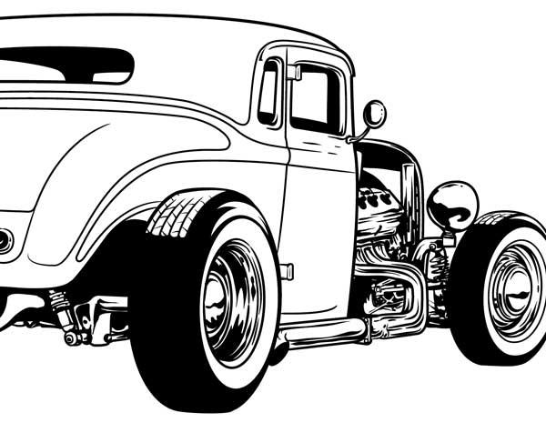 1950 ford rat rod