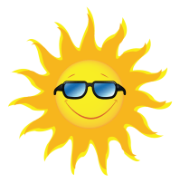Sun and shade clipart - Clipground