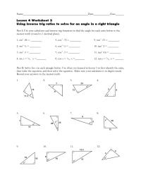 trigonometry worksheets - Clipground