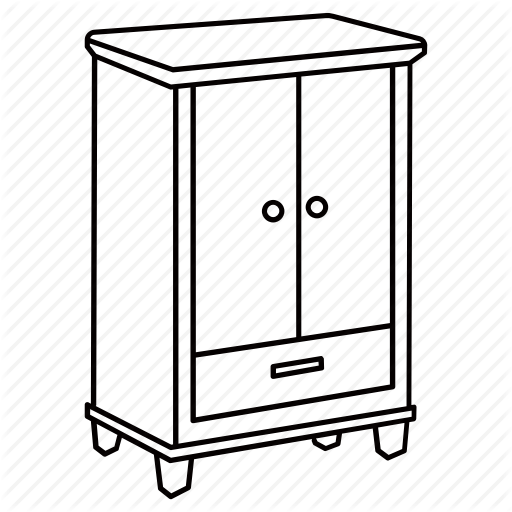 Cupboard Black And White Clipart 10 Free Cliparts