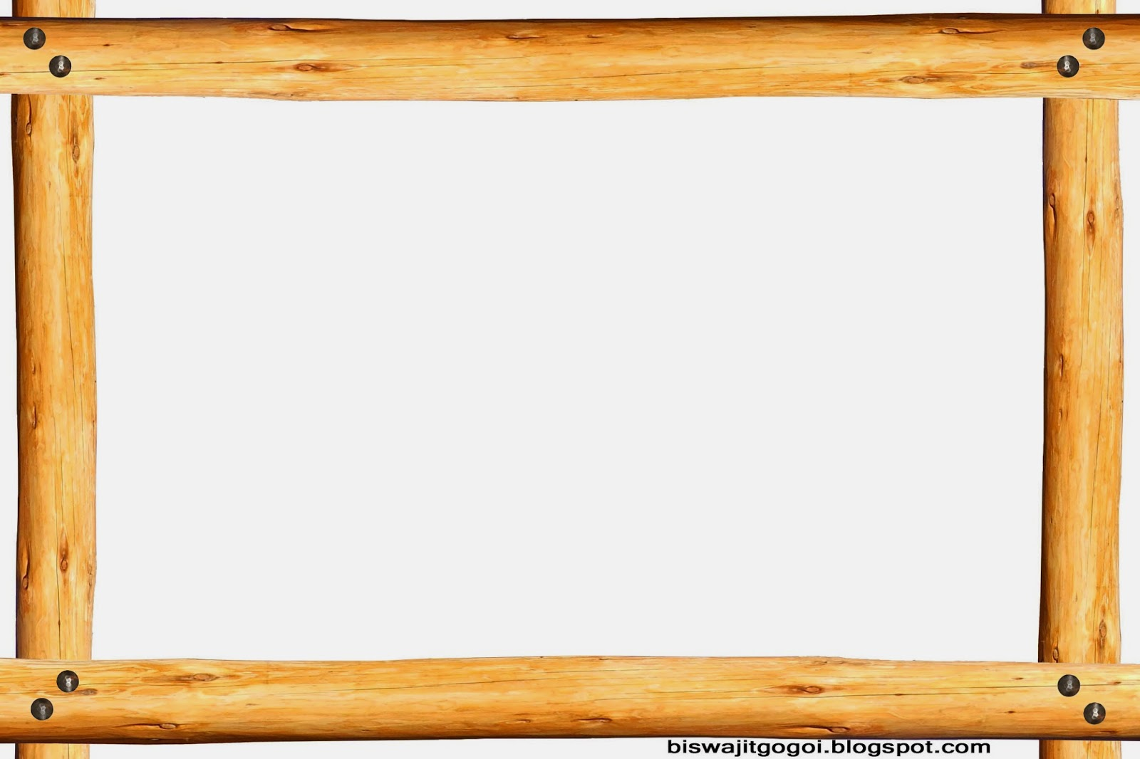 Houten Border Frame Wood Clipart Clipground
