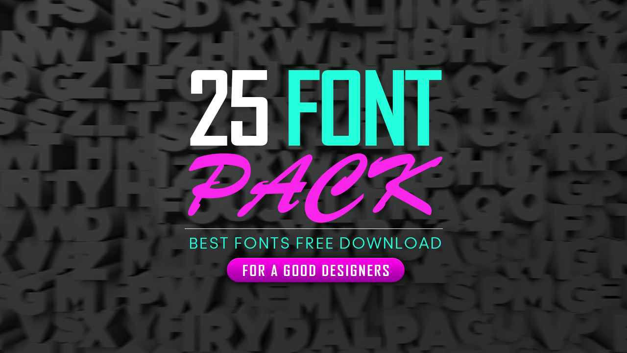 Top 25 Fonts For Graphic Designers Best Fonts Clipping World